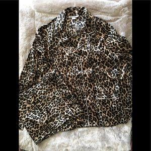Vintage Victoria Secret satin feel pajama set
